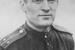 Лётчик Мамкин, кавалер ордена Красного Знамени (посмертный)